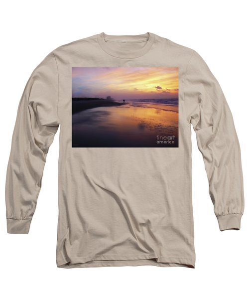 Sunset Walk On Myrtle Beach Long Sleeve T-Shirt