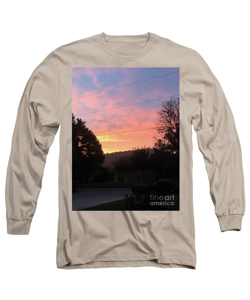 Sunshine Without The Fog Long Sleeve T-Shirt
