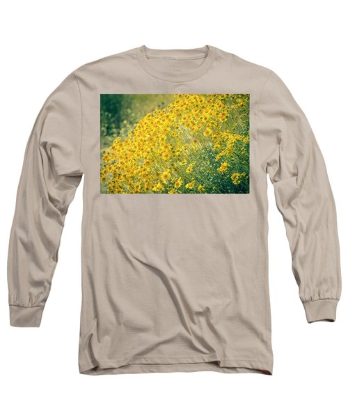 Superbloom Golden Yellow Long Sleeve T-Shirt