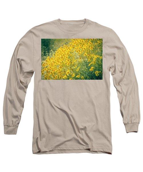 Superbloom Golden Yellow Long Sleeve T-Shirt