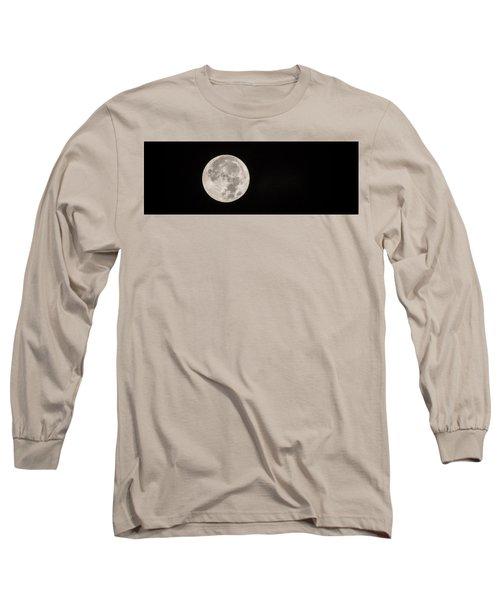 Supermoon Long Sleeve T-Shirt