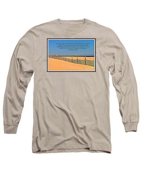 Sure Foundation Long Sleeve T-Shirt