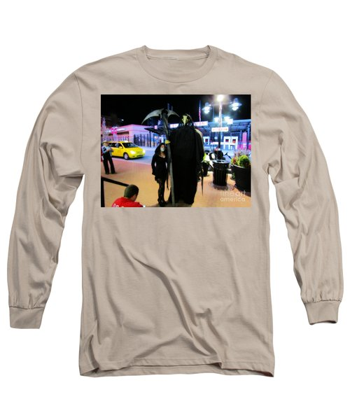 Surely The Night's Best Long Sleeve T-Shirt by Kelly Awad