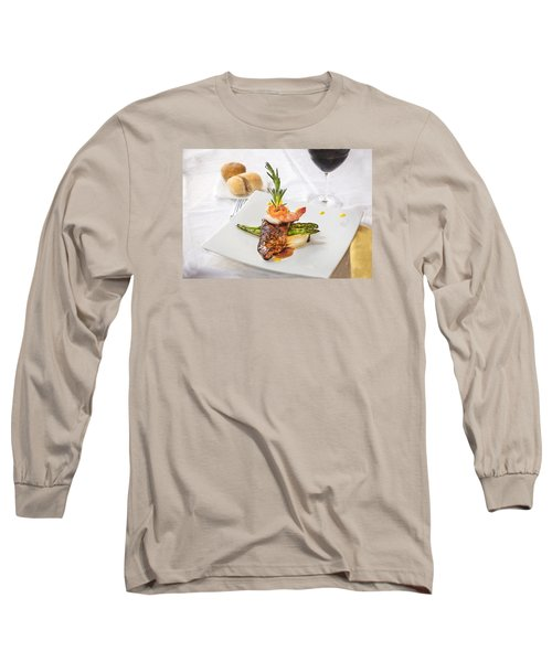 Surf And Turf Long Sleeve T-Shirt by Rich Franco