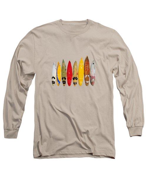 Surf Board T-shirt Long Sleeve T-Shirt