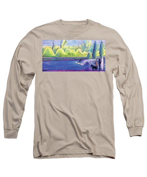 Surf Colorado Long Sleeve T-Shirt by David Sockrider