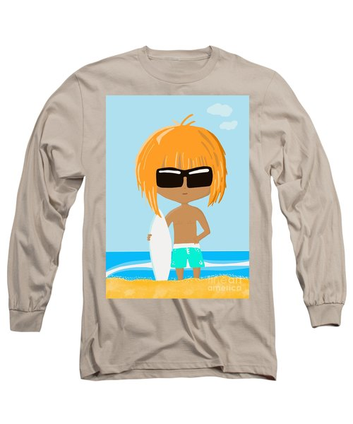 Surf Dude Long Sleeve T-Shirt