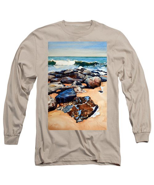 Surf On The Jetty Long Sleeve T-Shirt