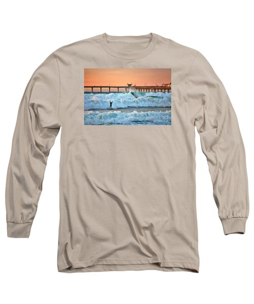 Surfer Celebration Long Sleeve T-Shirt