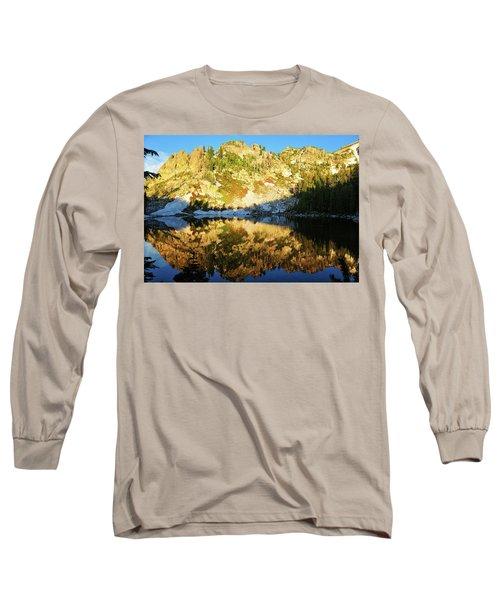 Surprise Lake Morning Reflections Long Sleeve T-Shirt