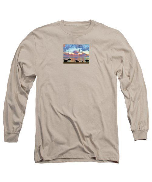 Surreal Sunset Long Sleeve T-Shirt by Michele Penner