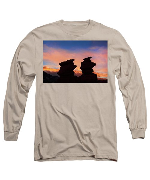 Surrender To The Infinite, Unbounded, Pure Consciousness  Long Sleeve T-Shirt by Bijan Pirnia