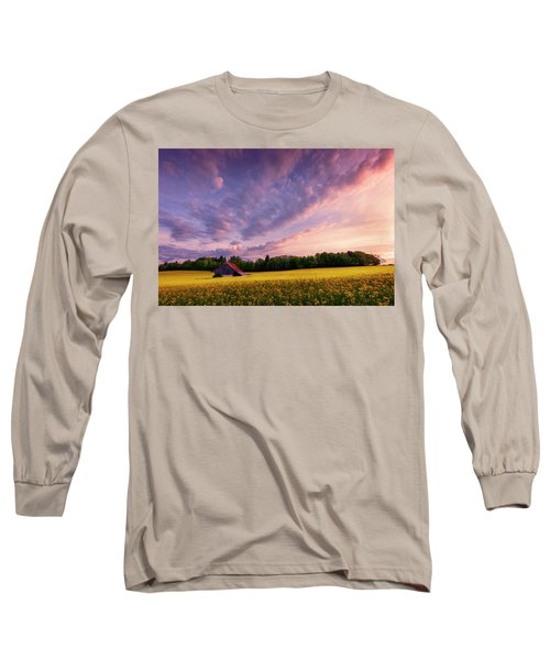Surrounded Long Sleeve T-Shirt by Dominique Dubied