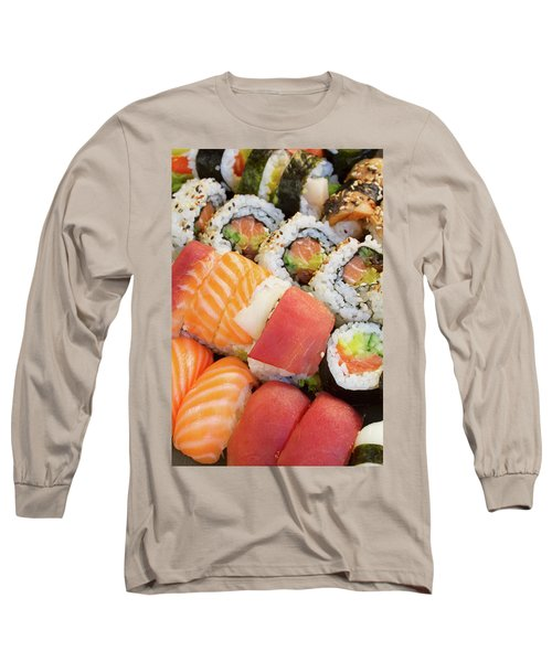 Sushi Dish Long Sleeve T-Shirt