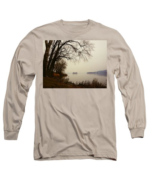 Susquehanna River Near Veterans Memorial Bridge Long Sleeve T-Shirt