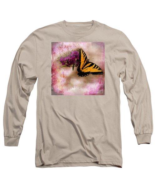 Swallow Tail Full Of Beauty Long Sleeve T-Shirt