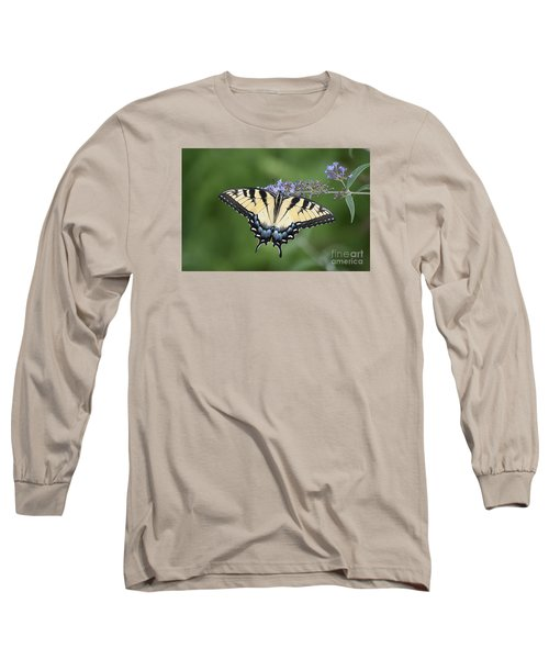 Long Sleeve T-Shirt featuring the photograph Swallowtail 20120723_24a by Tina Hopkins