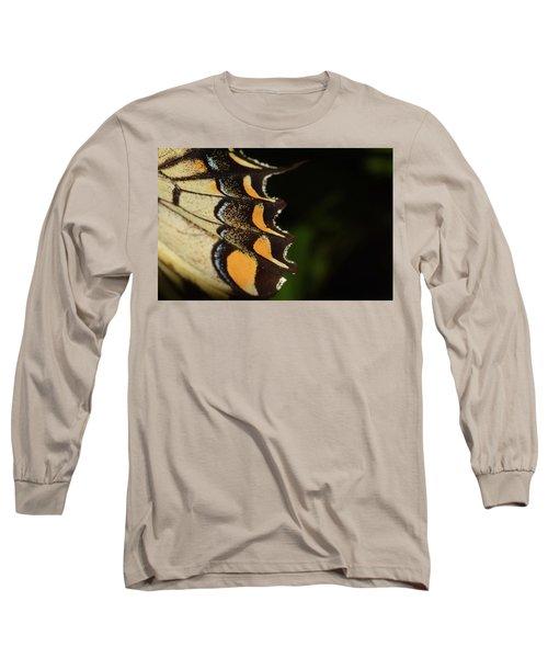 Swallowtail Butterfly Wing Long Sleeve T-Shirt
