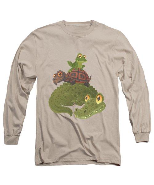 Swamp Squad Long Sleeve T-Shirt