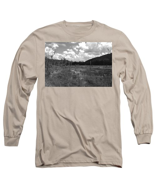 Swampoem Long Sleeve T-Shirt by Curtis J Neeley Jr