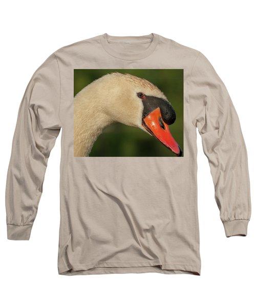 Swan Headshot Long Sleeve T-Shirt
