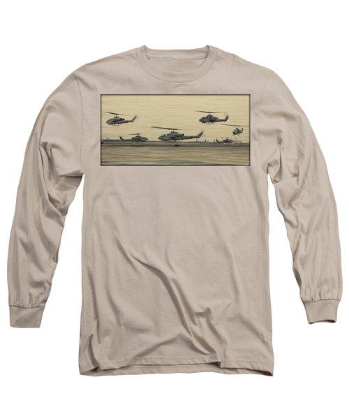 Swarming Cobras Long Sleeve T-Shirt