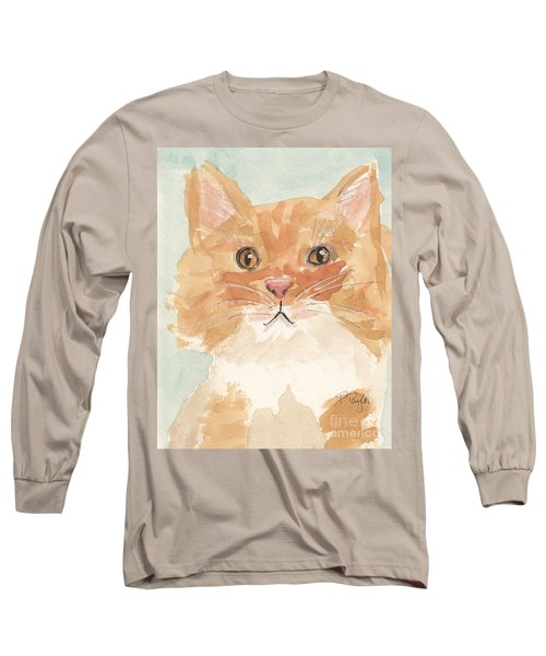 Long Sleeve T-Shirt featuring the painting Sweet Attitude by Terry Taylor