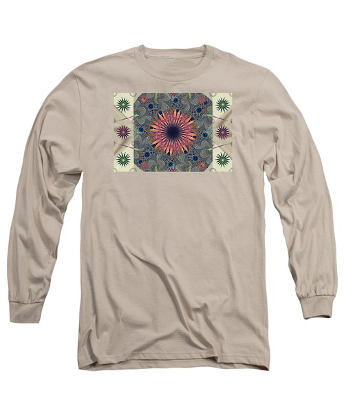 Sweet Daisy Chain Long Sleeve T-Shirt