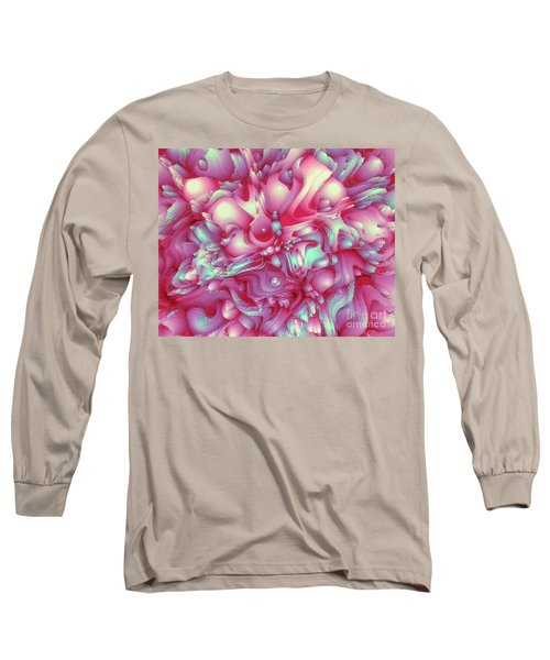 Sweet Flowers 2 Long Sleeve T-Shirt by Moustafa Al Hatter