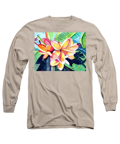 Sweet Plumeria 2 Long Sleeve T-Shirt
