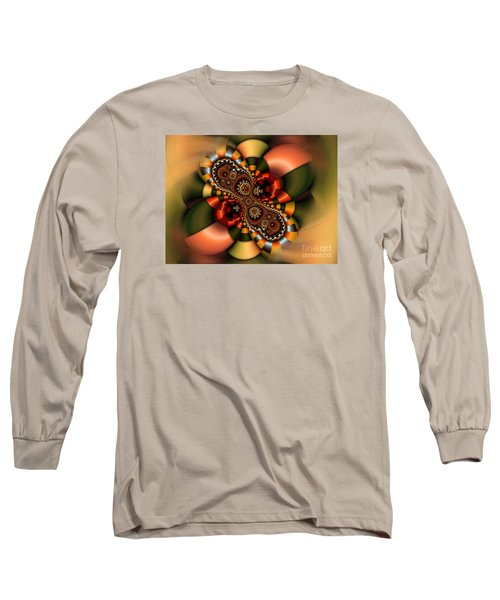 Long Sleeve T-Shirt featuring the digital art Sweets by Karin Kuhlmann