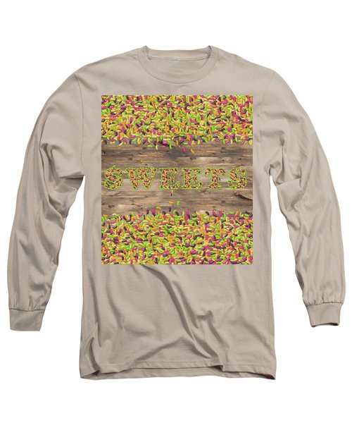 Sweets Long Sleeve T-Shirt by La Reve Design