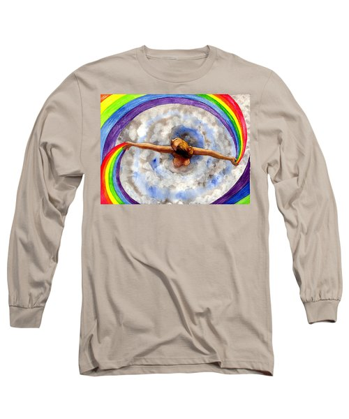 Swirl Long Sleeve T-Shirt