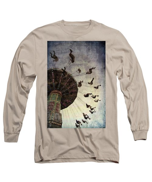 Swirling.... Long Sleeve T-Shirt