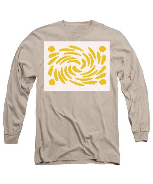 Swirls N Dots S3 Long Sleeve T-Shirt