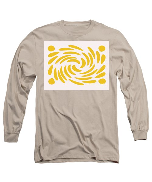 Swirls N Dots S3 Long Sleeve T-Shirt