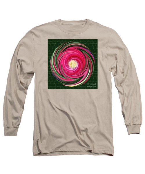 Swirls Of Color Long Sleeve T-Shirt by Sue Melvin