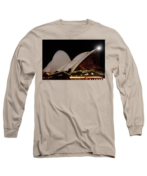 Long Sleeve T-Shirt featuring the photograph Sydney Opera House Close View 2 By Kaye Menner by Kaye Menner