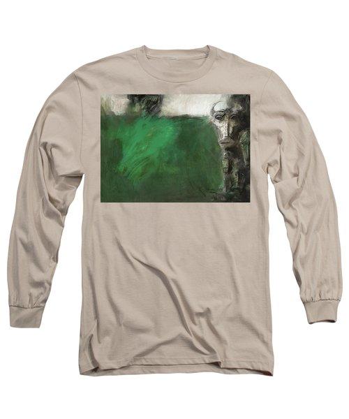 Symbol Mask Painting - 03 Long Sleeve T-Shirt