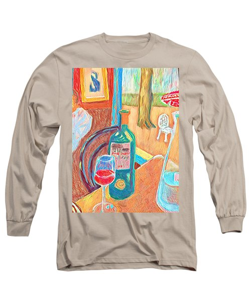 Table At Justine's Long Sleeve T-Shirt