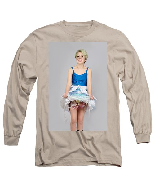 Taetyn In Jelly Fish Dress Long Sleeve T-Shirt