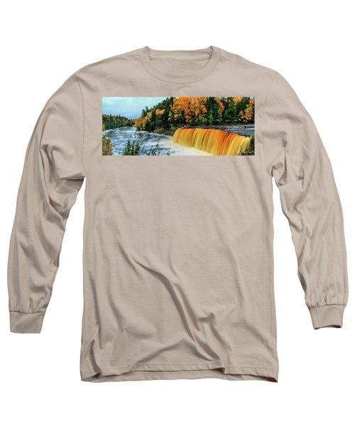 Tahquamenon Falls 2 Long Sleeve T-Shirt