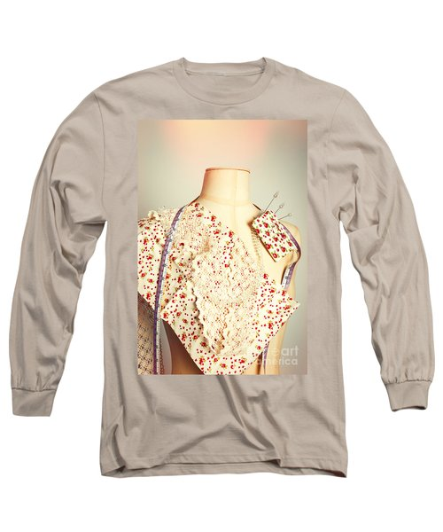 Tailors Dummy With Colour Swatches Long Sleeve T-Shirt