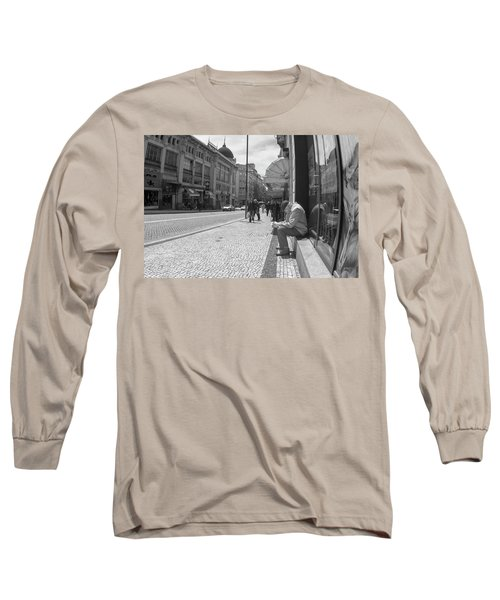 Taking A Nap Long Sleeve T-Shirt