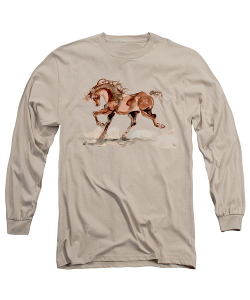 Taking Stride 2 Long Sleeve T-Shirt by Mary Armstrong