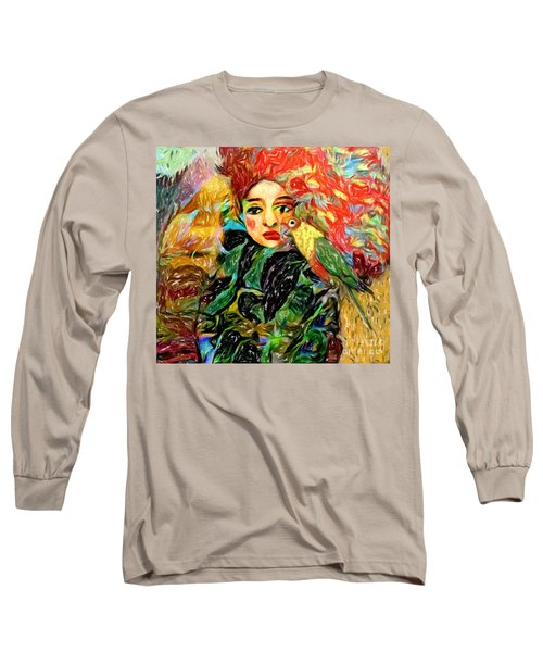 Talk To Me Long Sleeve T-Shirt by Alexis Rotella