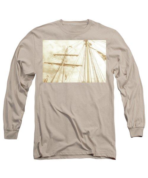 Tall Ship - 1 Long Sleeve T-Shirt