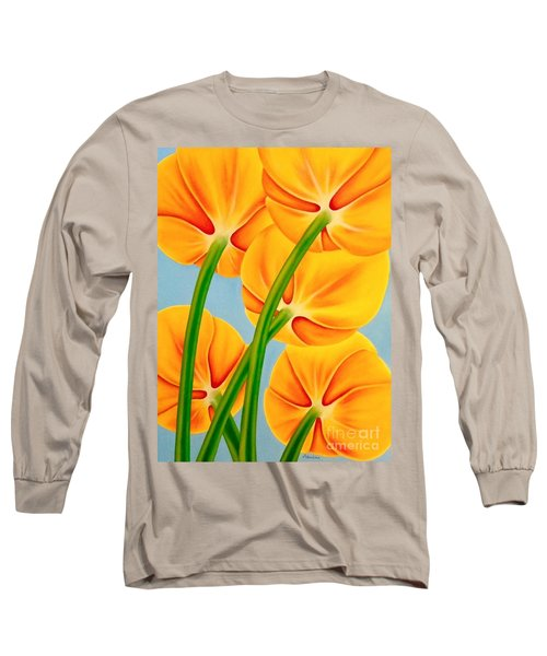 Tangerine Long Sleeve T-Shirt