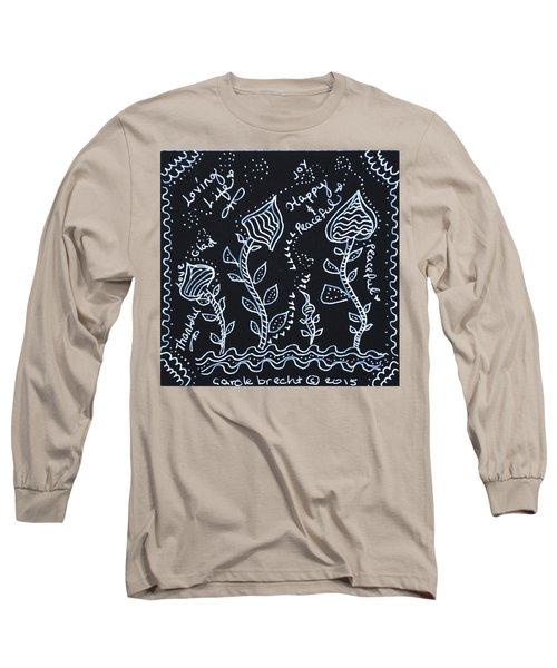 Tangle Flowers Long Sleeve T-Shirt