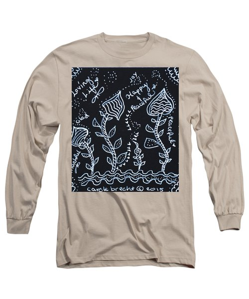 Tangle Flowers Long Sleeve T-Shirt